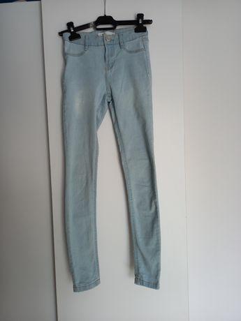 Błękitne  jeansy
