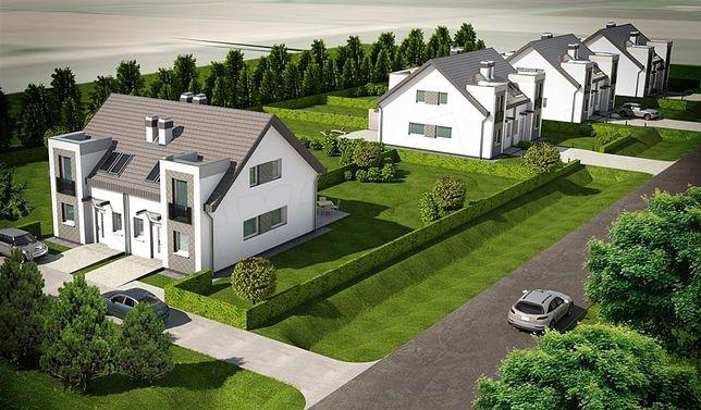 Nowe domy z ogrodem w Nowogardzie.