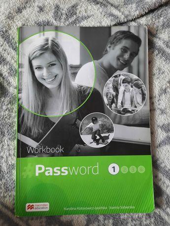 Komplet podręcznik + ćwiczenie password 1