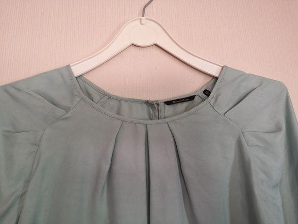 Camisa verde massimo dutti