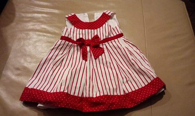 Sukienka 3-6mcy elegancka! Jak nowa!