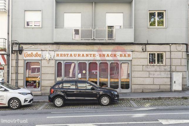 Restaurante para trespasse no centro de Guimarães
