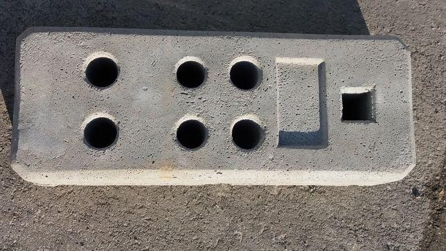 stopa betonowa używana stopy do ogrodzeń tymczasowych budowlane