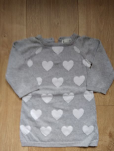 Tunika Sweterek 80 dziewczynka