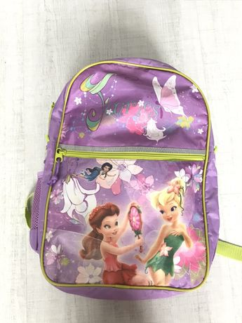 Śliczny szkolny plecak DISNEY z wróżkami