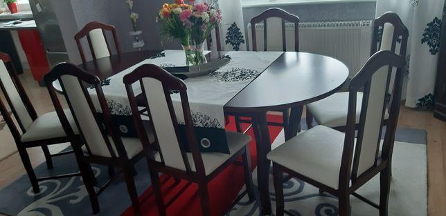 Stół z krzesłami zestaw