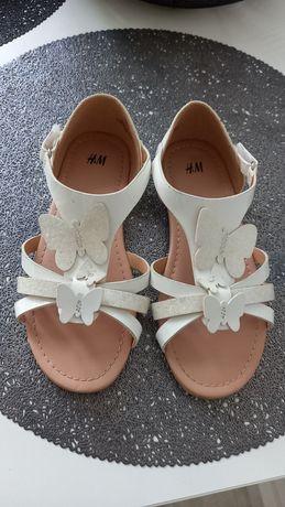 H&M sandalki roz 31 stan bardzo dobry