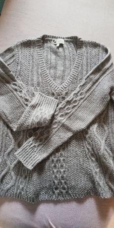 Sweter damski Next rozm. M, modny splot