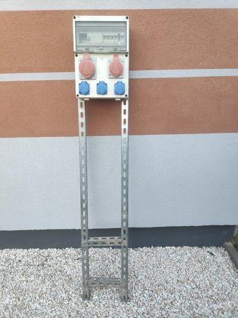 Erbetka Rozdzielnica skrzynka elektryczna budowlana zabezpieczona