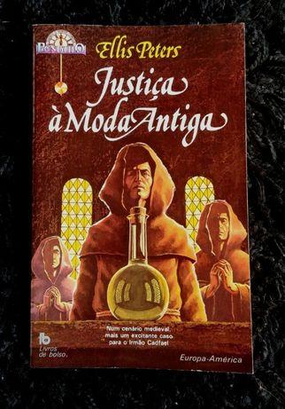Justiça à Moda Antiga Ellis Peters Coleção Pêndulo Europa-América
