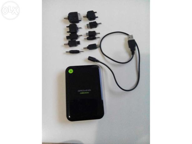 Carregador portátil de telemóveis / tablets