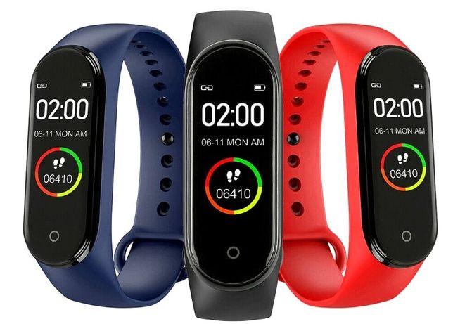 SMARTBAND M4 Smart-watch Zegarek Opaska sportowa 3 opaski w cenie