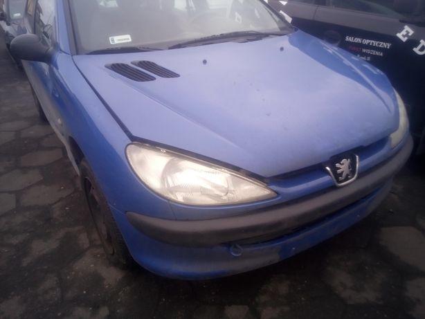 Peugeot 206 zderzak i inne