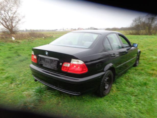 BMW E46 kolor schwarz II klapa tylna wszystkie części