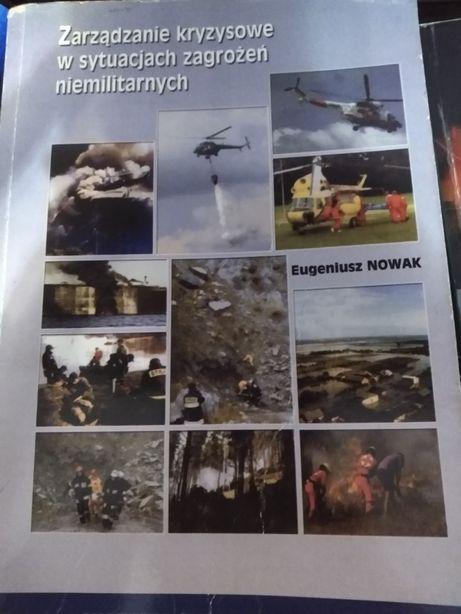 Książka zarządzanie kryzysowe w sytuacjach niemilitarnych