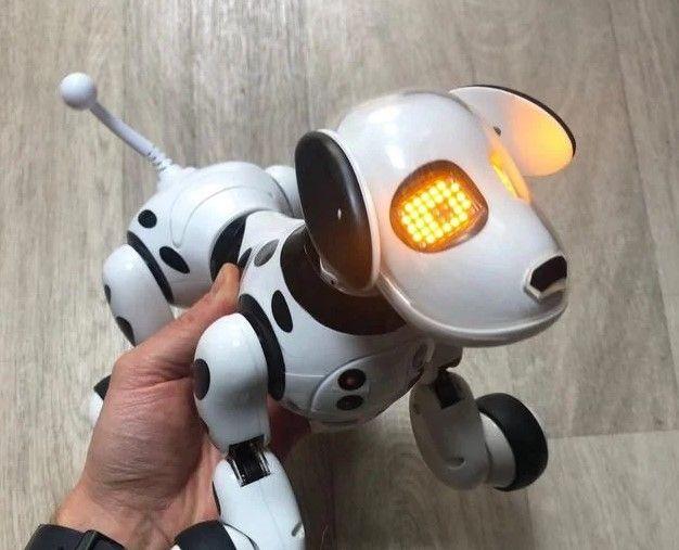 Собака на П/У (smart Pet Dog 28 см) / Интерактивная / (много эмоций). Запорожье - изображение 1