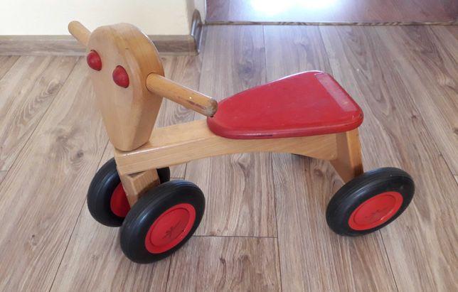 Rowerek biegowy, jeździk drewniany
