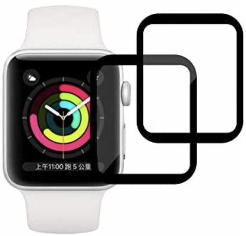 Protetor de ecrã para Apple Watch Series 6/5/4/SE 44 mm, 2X NOVO