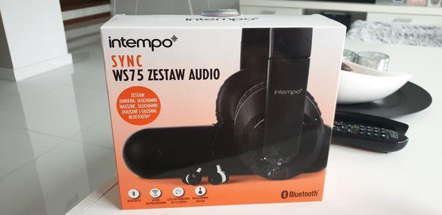 Zestaw audio sluchawki glosnik Intempo