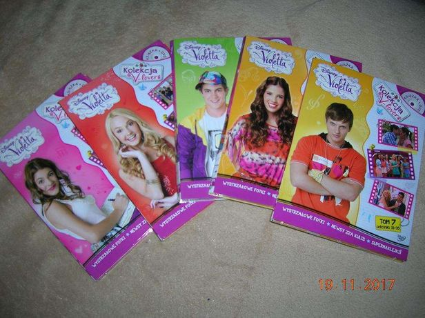 Kolekcja płyt DVD Violetta + książka