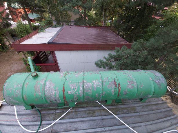 Beczka Baniak Zbiornik na Wodę Deszczówkę na Działkę Budowę Ocynk 600L