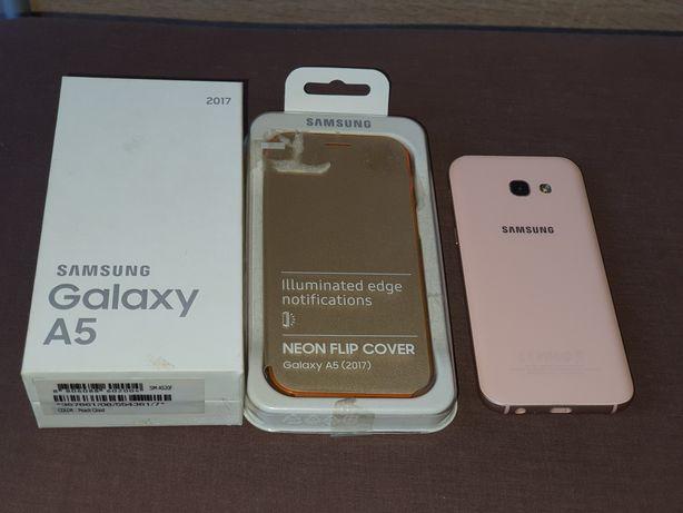 Samsung Galaxy A5 Koralowy różowy oryginalne etui