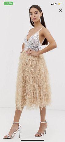 Sukienka Asos przerobiona idealna na poprawiny ślub