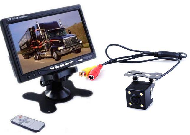 Zestaw Monitor LCD 7 cali+ KAMERA COFANIA 4 LED