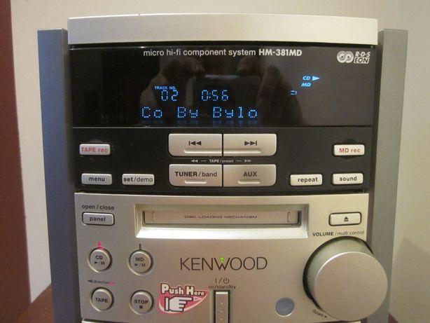Miniwieża Kenwood HM381 MD