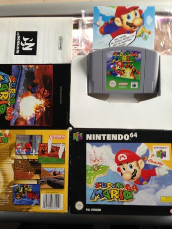 SUPER Mario 64 nintendo BOX