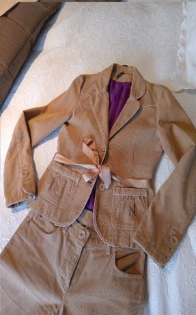 Conjunto casaco e calção Naf Naf