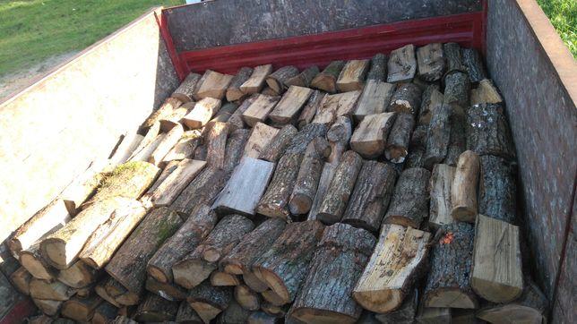 Drewno kominkowe opałowe DĄB BRZOZA