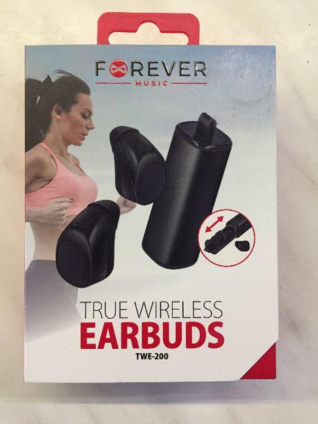 Słuchawki dokanałowe Forever True Wireless Earbuds TWE 200