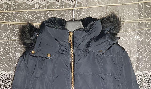 Пуховая куртка ZARA зимняя