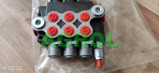 Rozdzielacz hydrauliczny 3 sekcyjny 40L Nowy Gwarancja Wysyłka