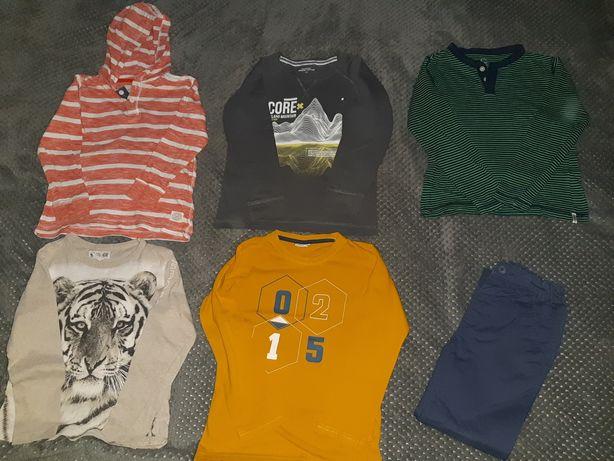 Bluzy bluzki koszulki na długi rękaw 122 reserved h&m