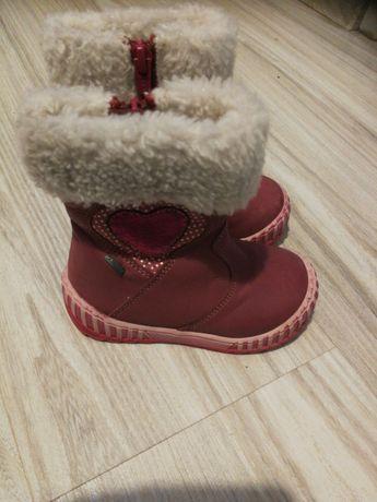 Buty dziewczęce zimowe