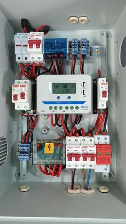 Vendo quadro solar 30 amperes para sistema fotovoltaico.