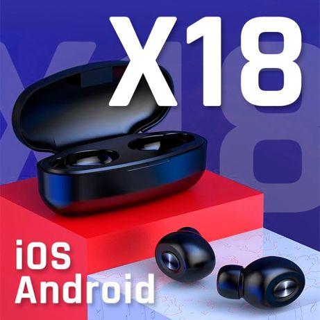 X18 słuchawki bezprzewodowe bluetooth 5.0 nowe TWS