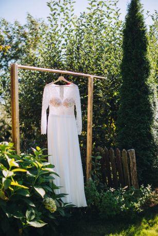 Suknia ślubna w stylu boho!