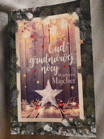 Cud grudniowej nocy Majcher książka