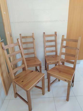 Cadeiras de Madeira Ikea