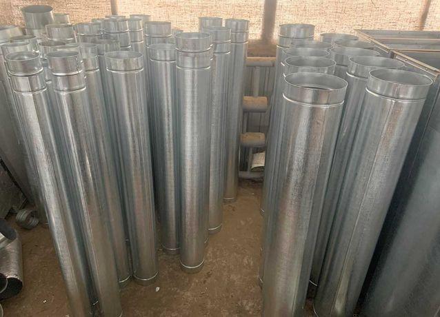 Вентиляция, воздуховоды круглые и комплектующие