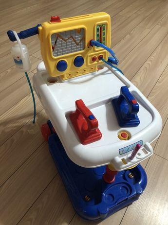 Wózek Lekrski Zestaw Doktor Zabawkowy