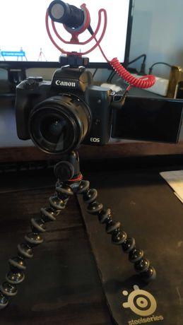 Canon M50 com VÁRIOS equipamentos