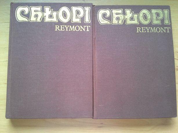 Chłopi, Władysław St. Reymont, kpl. 2 tomy, literatura, klasyka.
