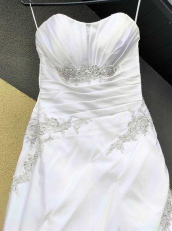 WHITE Lady Biała suknia ślubna r.40/44 NIŻSZA CENA