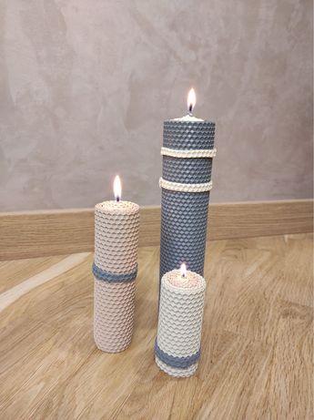Свічки з натурального воску!!!