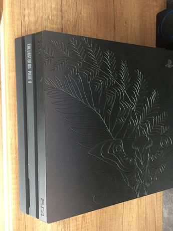 Konsola ps4 pro the last us as