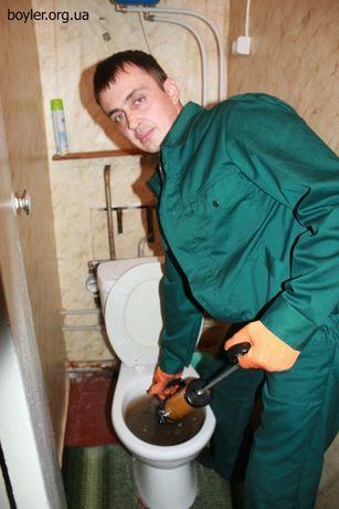 Чистка прочистка канализации засор лежак стояк